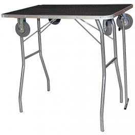Grooming folding table