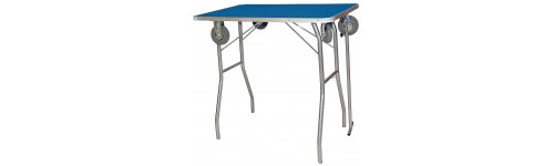 Grooming folding tables