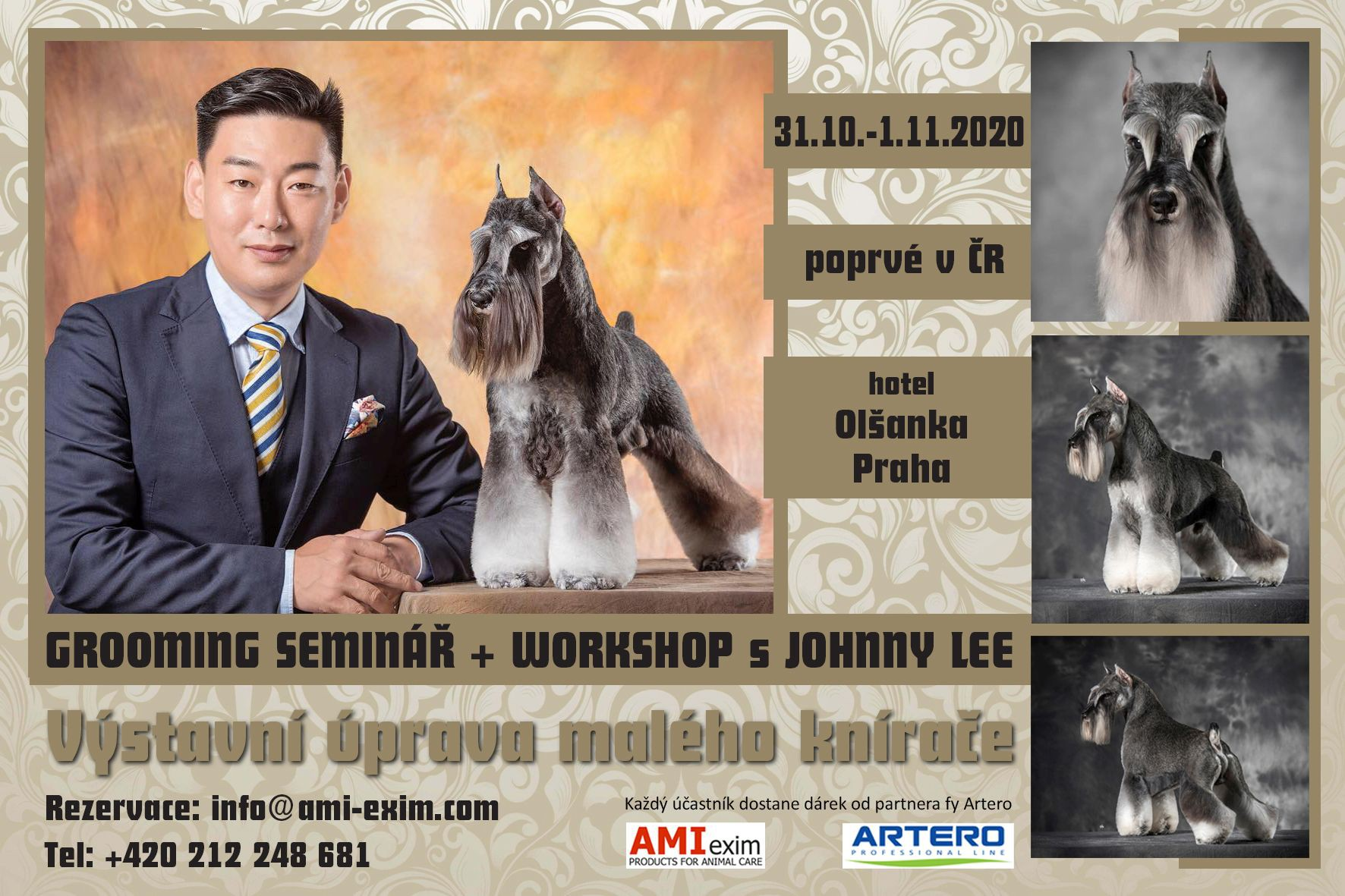 Grooming seminar s Johnny Lee